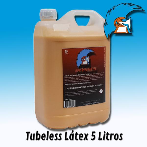 Garrafa de liquido tubeless latex 5 litros